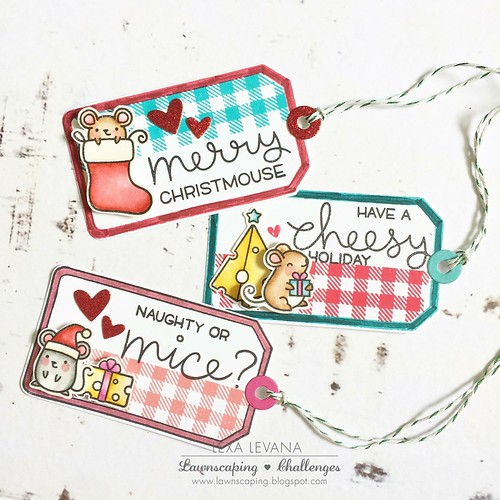 Christmouse tags