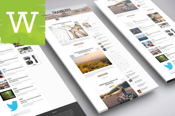 Creativemarket Premium WordPress Blog Theme v1.0