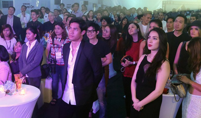 Full house at the launch of the Galaxy Studio and Gear S2 Launch