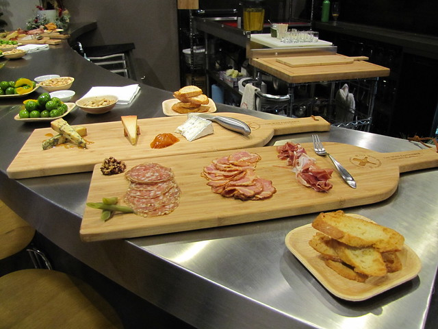Cheese & Charcuterie Flight at The Wine Experience