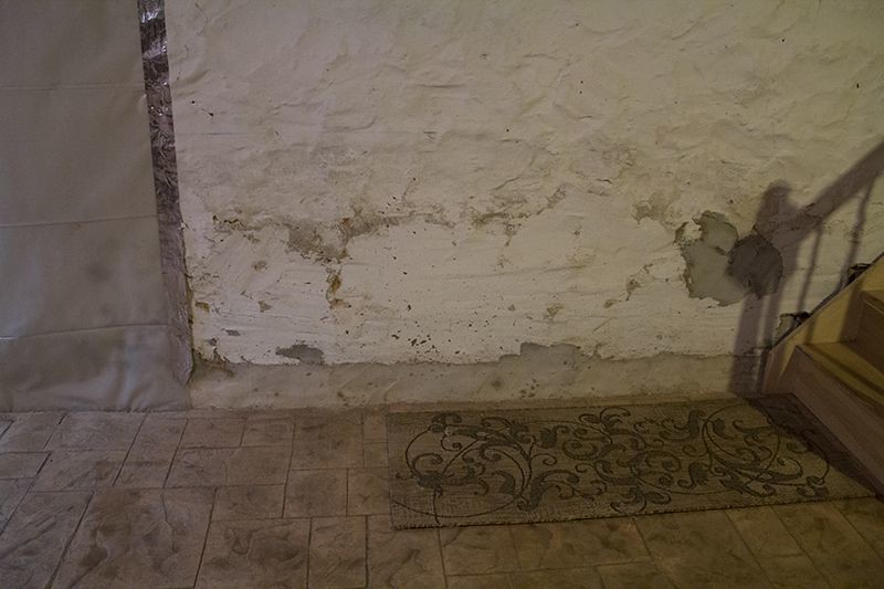Diy chatroom home improvement forum basement walls crumbling for Crumbling concrete floor