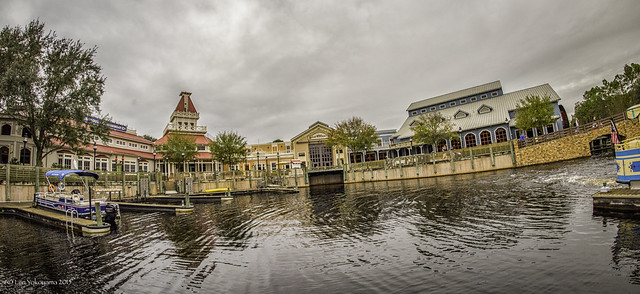 A Cloudy Morning @ Disney's Port Orleans Riverside