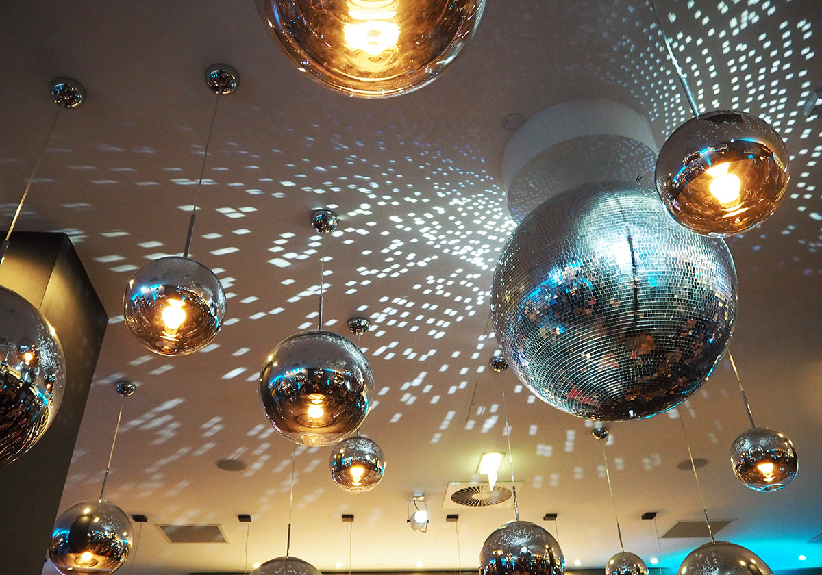 disco-balls-motel-one-manchester