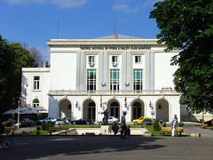 Constanta, Romania - National Opera and Ballet Theater Oleg Danovski