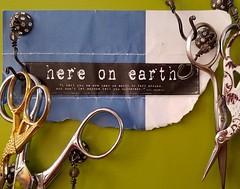 On my #scissors board...  here on earth...