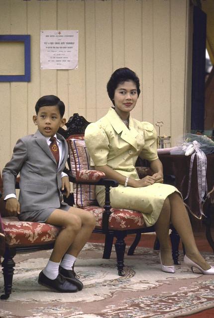 Bangkok 1960 - Queen Of Thailand by John Dominis