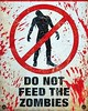 Zombie - Warning! Do Not Feed the Zombies  #halloween #deadlive #deadliveevents #zombies #livingdead contactus 01244 941177 for 2017 events