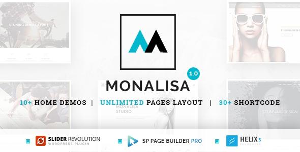 Monalisa v1.0.0 – Responsive Multi-Purpose Joomla Theme