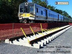 LIRR at Work: LIRR's Double Track Project