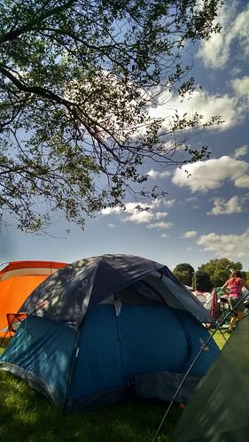 camping iowa ragbrai fortdodge 2015