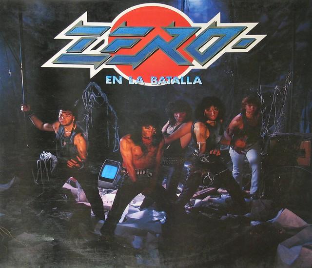"ZERO - EN AL BATALLA SPANISH PRESSING 12"" VInyl LP"
