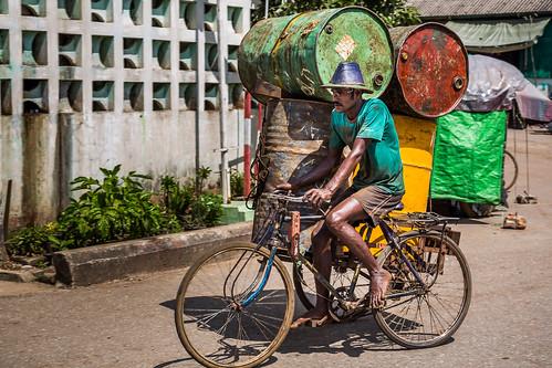 Burmese fuel transport