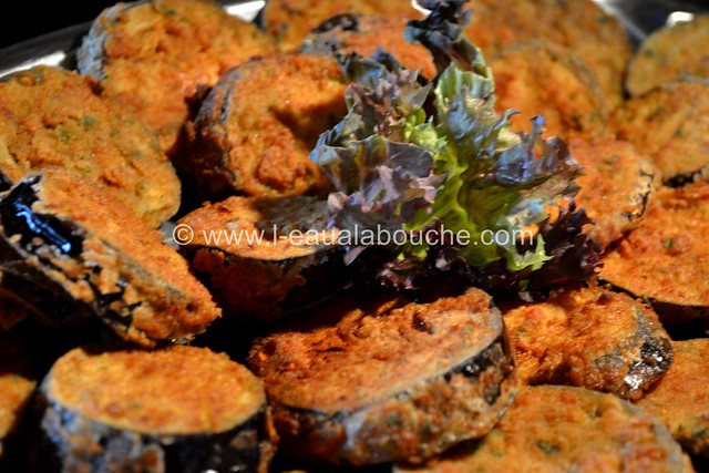 Aubergines Frites-Berejenas Fritas © Ana Luthi Tous droits réservés  017