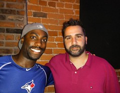 September 5, 2015 - 21:50 - Hanging out with the architect of the @bluejays, Alex Anthopoulos! #bluejays #toronto #mlb #baseball #beisbol #rogers #postseason #sports #pitchtalks #pitchtalksHAM #gm #generalmanager #skydome