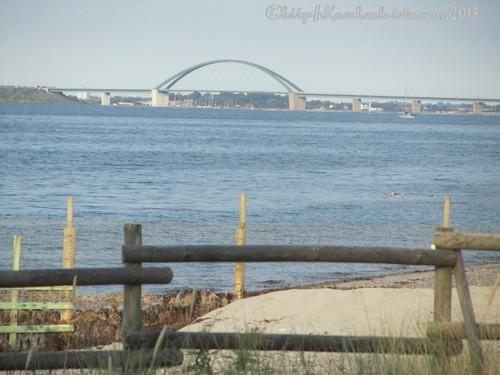 ©Blick auf die Fehmarnsundbrücke