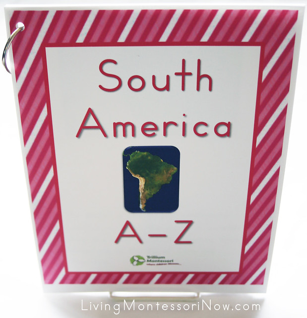 South America A-Z Non-Fiction Book