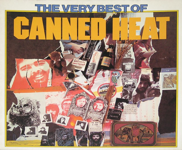 """CANNED HEAT THE VERY BEST OF CANNED HEAT 12"""" Vinyl LP"""