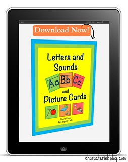 Letters and Sounds Cards