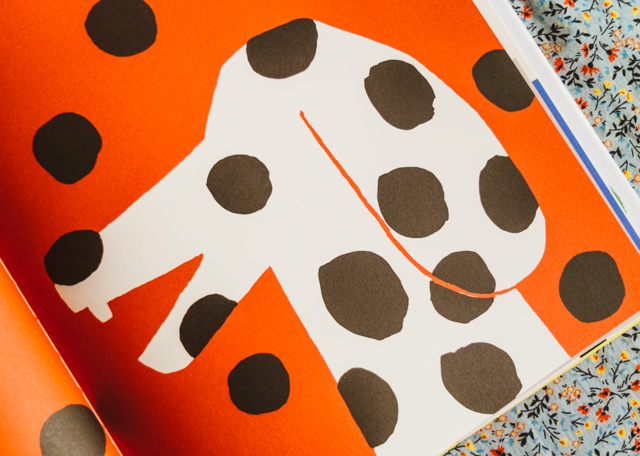 dalmatian illustration by paul rand