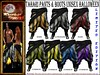 LIMITED EDITION: Tahari Pants & Boots UNISEX - Halloween GACHA by moonshagoreanstore