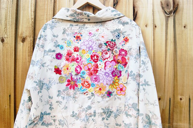 Flower Applique Jacket