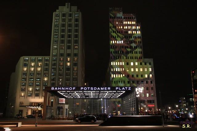 Festival of Lights 2015  Potsdamer Platz 42