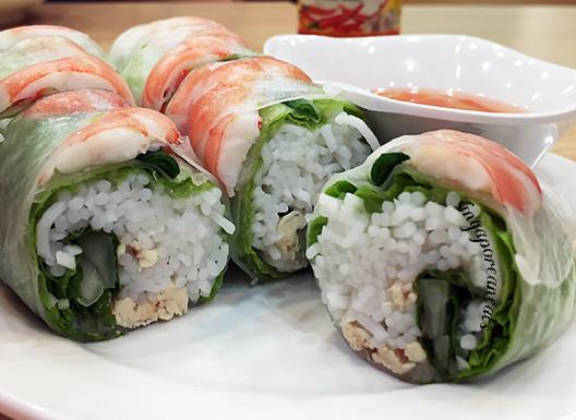 05 Trung Nguyen - Spring Rolls