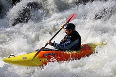 canoe sprint(0.0), sea kayak(0.0), vehicle(1.0), sports(1.0), rapid(1.0), kayak(1.0), surf kayaking(1.0), boating(1.0), canoe slalom(1.0), extreme sport(1.0), water sport(1.0), kayaking(1.0), whitewater kayaking(1.0), watercraft(1.0), canoeing(1.0), boat(1.0), paddle(1.0),