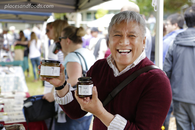 margaret river farmers market chef wan jam