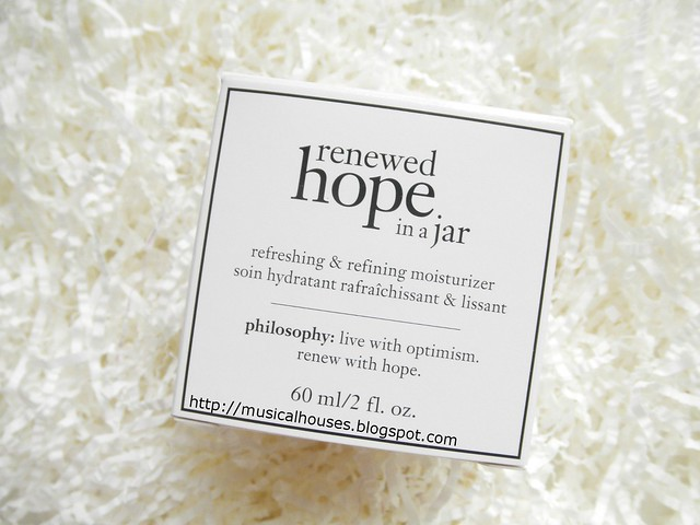 Philosophy Renewed Hope In A Jar Boxx