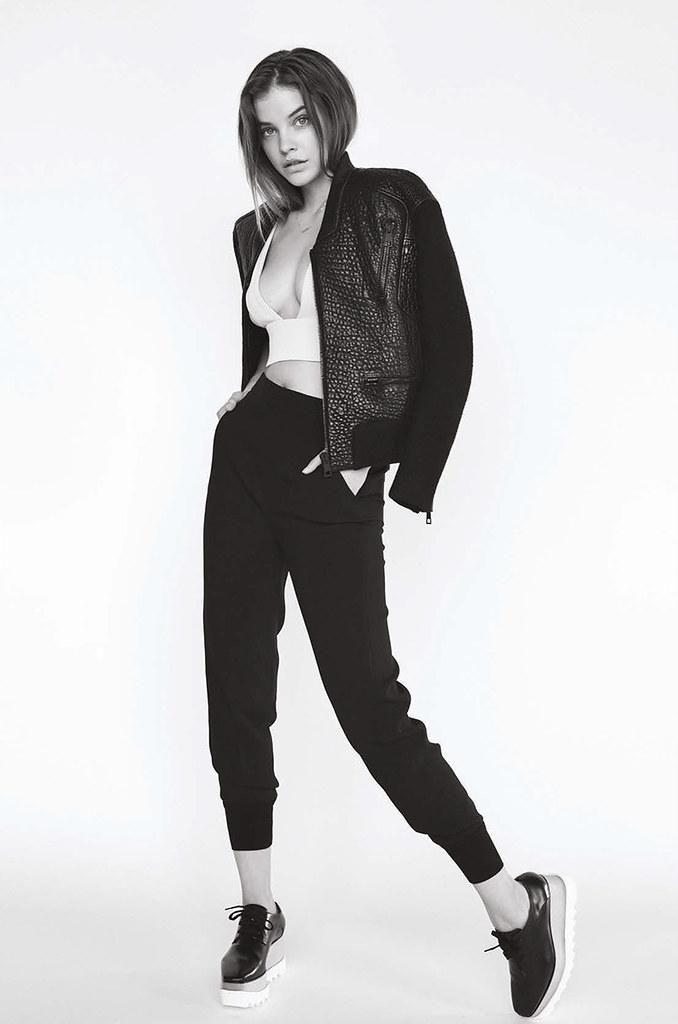 Барбара Палвин — Фотосессия для «Elle» HU 2015 – 1