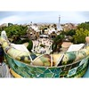 Park Güell fin qua su non ero mai arrivata, qui si compie il capolavoro di Gaudi. Sembra di essere in una fiaba d'altri tempi. #wainomi#travelblog#travelblogger#discovery#experience#trip#holiday#travelphotography#pic#instago#visitbarcelona #wainomitobarce