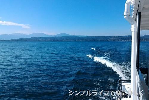 竹生島、船尾