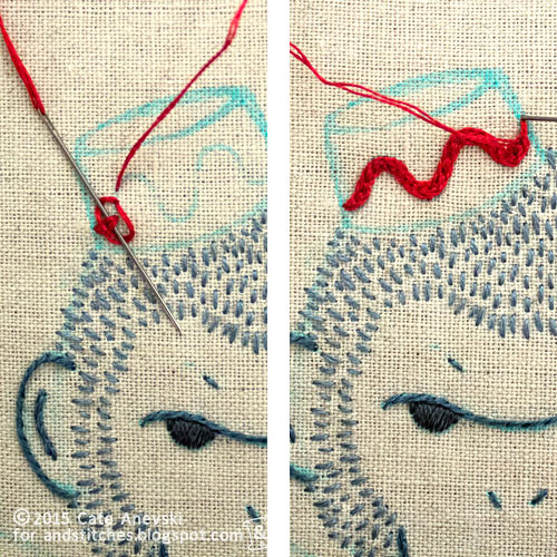 Hungarian Braided Chain Stitch