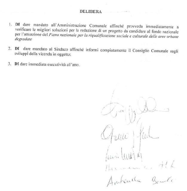 Rutigliano- la minoranza presenta una mozione al consiglio comunale 2