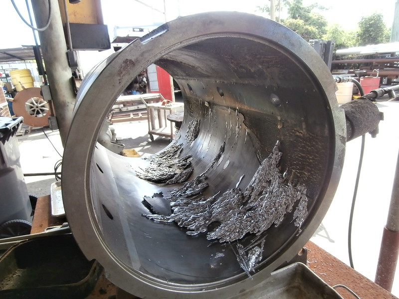 Rebabbitting White Metal Repairs