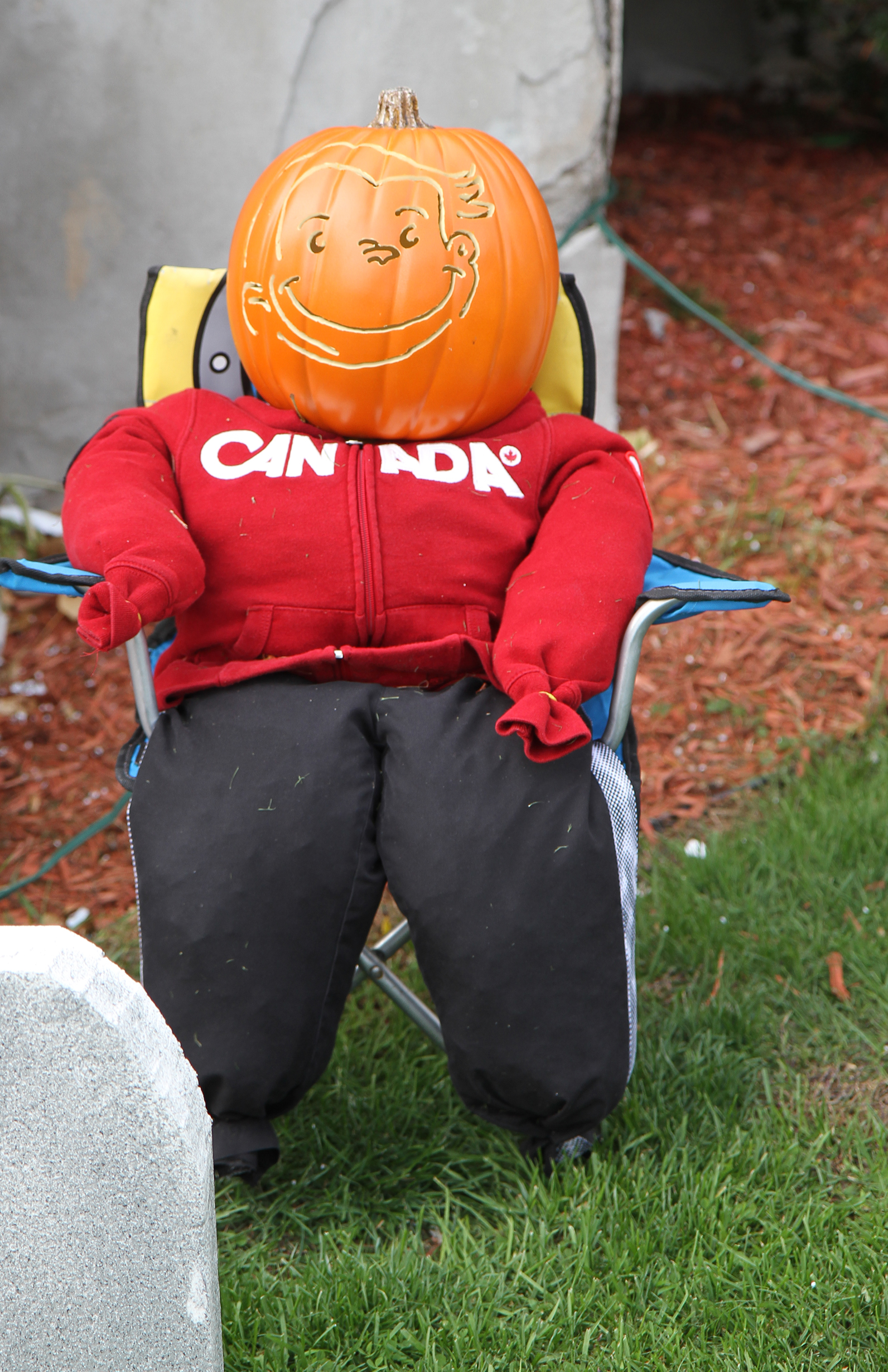 Canadian curious george pumkin