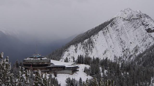 Old Banff Gondola Upper Terminal - Demolition Slated