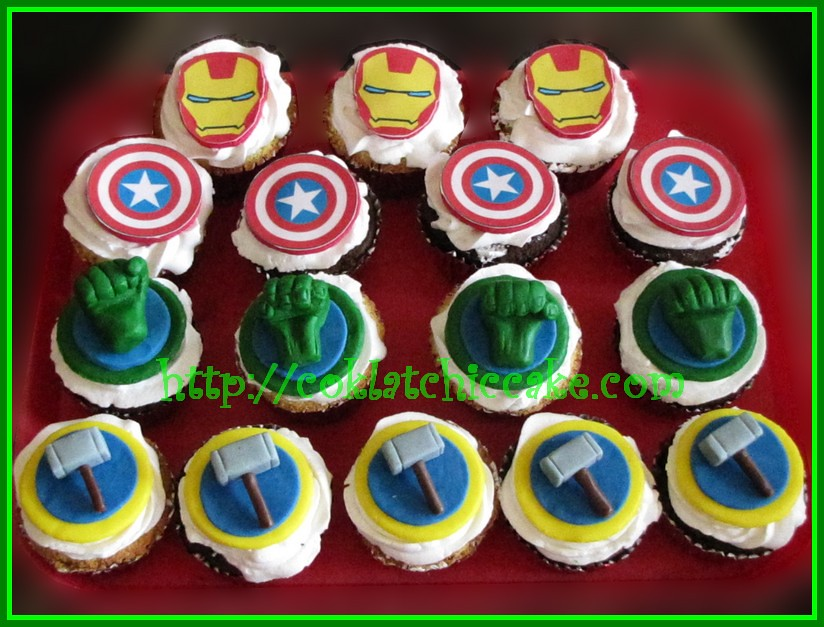Cupcake the Avengers