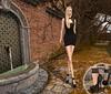 Sabrymoon wearing YummY Store Anitta dress and Dandaha shoes