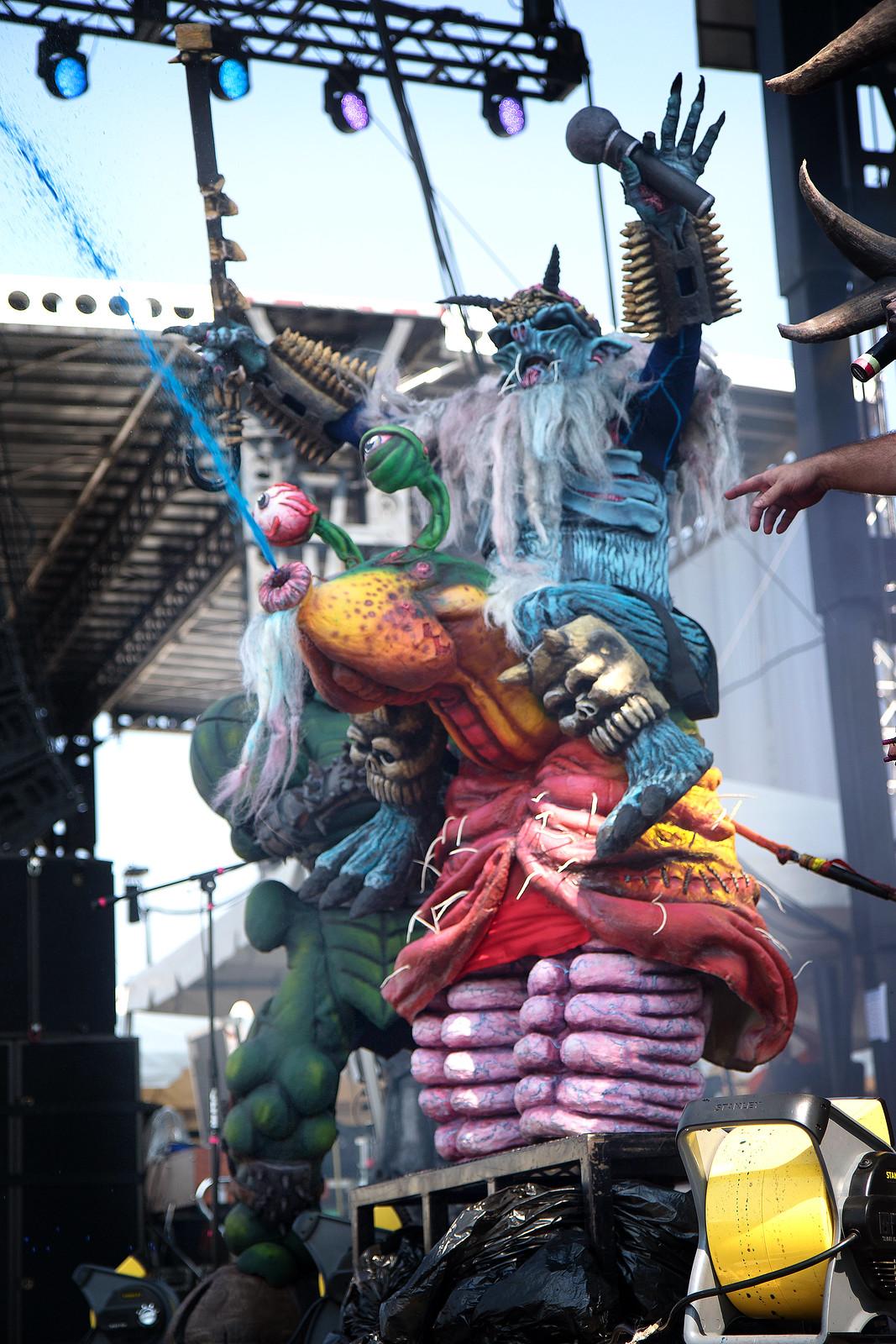 Riot Fest 2015 Day 2 - GWAR