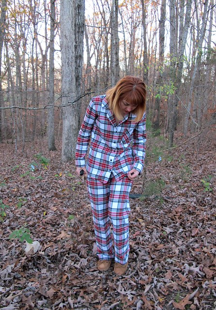 Flannel Carolyn PJs - front