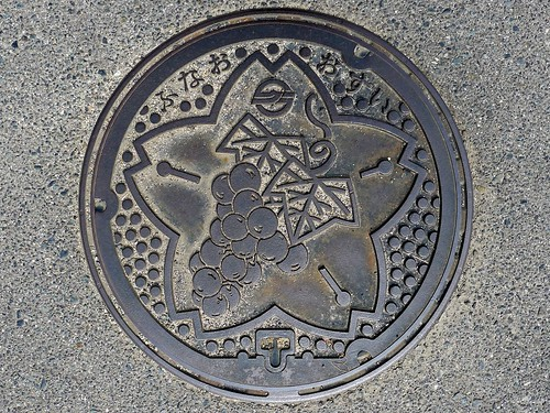 Funao Okayama, manhole cover (岡山県船穂町のマンホール)