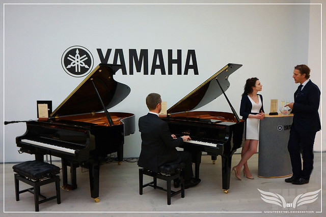 The Establishing Shot: SALONQP 2015 - YAMAHA PIANOS - SAATCHI GALLERY, LONDON