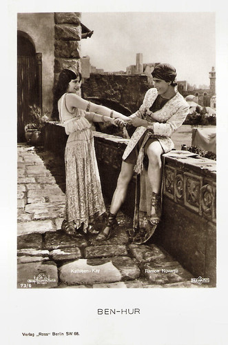 Kathleen Kay and Ramon Novarro in Ben-Hur: A Tale of the Christ (1925)