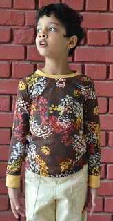 Flashback skinny tee, Made by Rae patterns