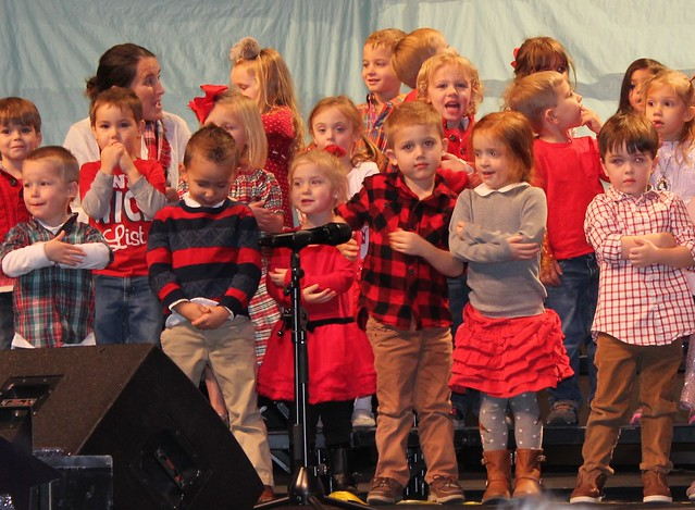 Ty's Christmas Program and Party