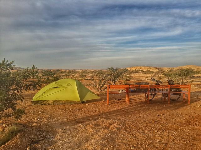 Wild Camp Wadi Dawdah