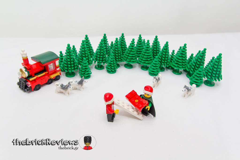 ThebrickReview: Christmas Train - 40138 - Limited Edition 2015 23423194090_91b38fcaae_b