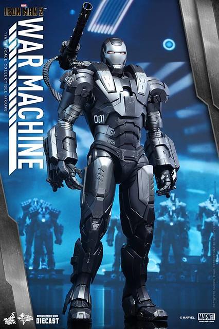 Hot Toys – MMS331D13 – 鋼鐵人 2【戰爭機器】1/6 比例可動合金人偶作品 War Machine